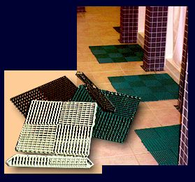 The ultimate interlocking mat for all your wet area needs: locker room, laundry rooms, pool areas, etc.